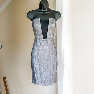 Bebe sz 2 boned dress strapless date night career